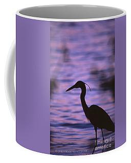 Great Blue Heron Photo Coffee Mug