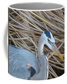 Great Blue Heron On Spi Coffee Mug