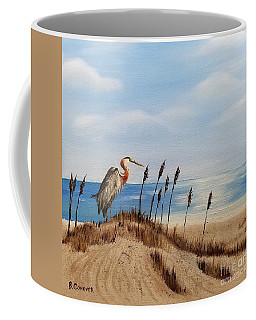 Great Blue Heron - Outer Banks Coffee Mug