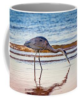 Great Blue Heron Twilight Coffee Mug