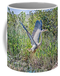 Great Blue On The Fly Coffee Mug