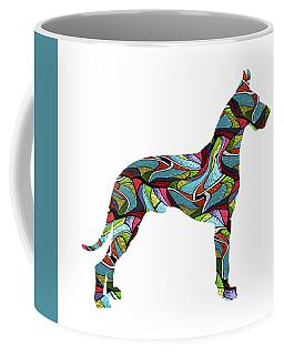 Great Dane Spirit Glass Coffee Mug