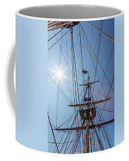 Coffee Mug featuring the photograph Great Day To Sail A Tall Ship by Dale Kincaid