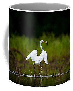 Great Egret, Great Fisherman Coffee Mug