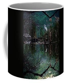 Great Egret In Central Park I Coffee Mug