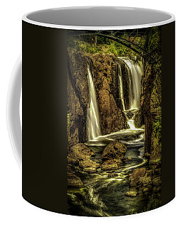 Great Falls Close Up Coffee Mug