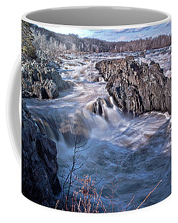 Coffee Mug featuring the photograph Great Falls Virginia by Suzanne Stout