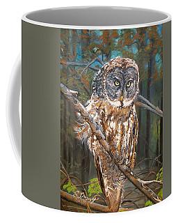 Great Grey Owl 2 Coffee Mug