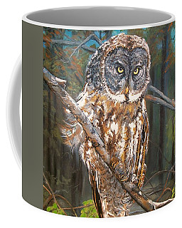 Great Grey Owl 2 Coffee Mug