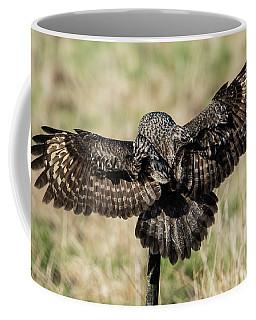 Great Grey's Back Coffee Mug by Torbjorn Swenelius
