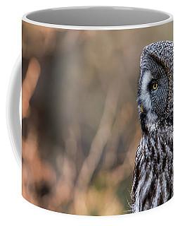 Great Grey's Profile Coffee Mug by Torbjorn Swenelius