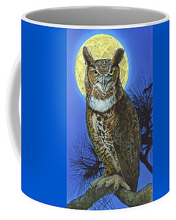 Great Horned Owl 2 Coffee Mug