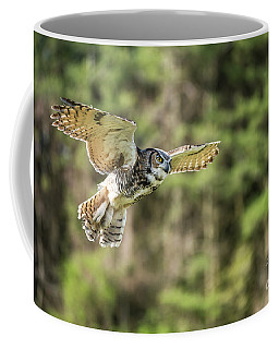 Great Horned Owl-2366 Coffee Mug
