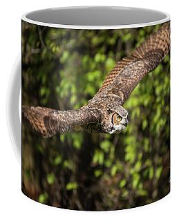 Great Horned Owl-2419 Coffee Mug