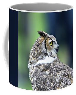 Great Horned Owl Profile Coffee Mug