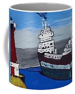 Great Lakes Shipping Industry Coffee Mug