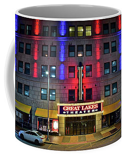 Coffee Mug featuring the photograph Great Lakes Theatre by Frozen in Time Fine Art Photography