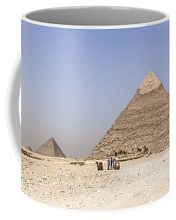 Great Pyramids Of Giza - Egypt Coffee Mug