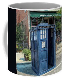 Great River Steampunk Festival Police Box Coffee Mug