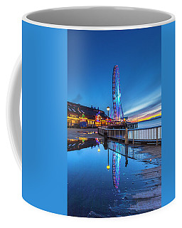 Coffee Mug featuring the photograph Great Seattle Wheel by Evgeny Vasenev