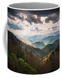 Great Smoky Mountains National Park North Carolina Scenic Landscape Coffee Mug