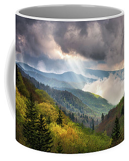 Great Smoky Mountains National Park Scenic Landscape Gatlinburg Tn Coffee Mug