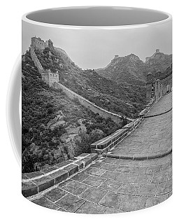 Coffee Mug featuring the photograph Great Wall 5, Jinshanling, 2016 by Hitendra SINKAR