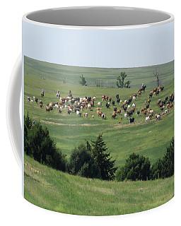 Great Western Cattle Drive Coffee Mug