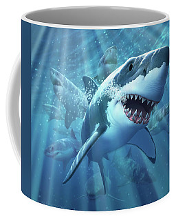 Great White Shark Coffee Mug