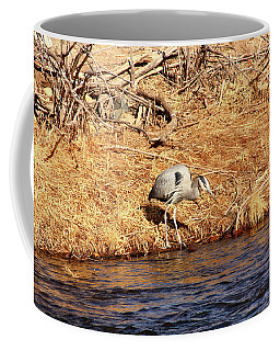 Greatblueheron1 Coffee Mug