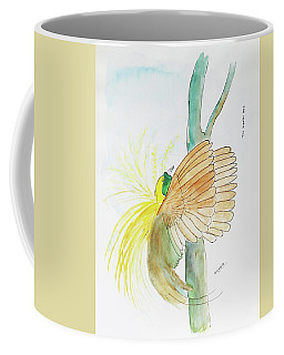 Greater Bird Of Paradise Coffee Mug by Keshava Shukla