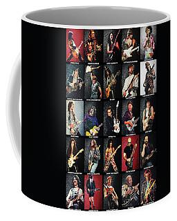 Greatest Guitarists Of All Time Coffee Mug