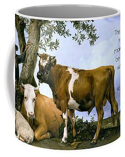 Greatness Of A Nation Coffee Mug