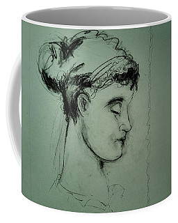 Grecco Girl Coffee Mug