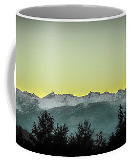 Gredos Sunset Spain Coffee Mug