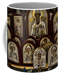 Greek Orthodox Church Icons Coffee Mug by David Smith