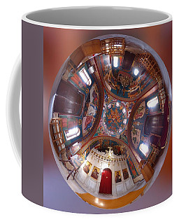 Greek Orthodox Church Interior Coffee Mug