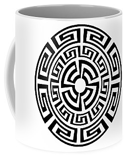Greek Sun Coffee Mug