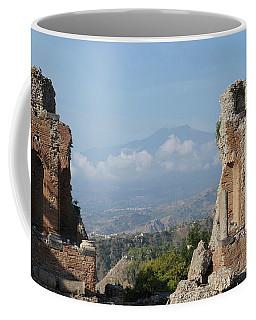 Greek Theatre Taormina Coffee Mug
