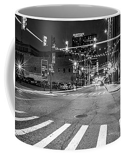 Greek Town In Black And White Coffee Mug
