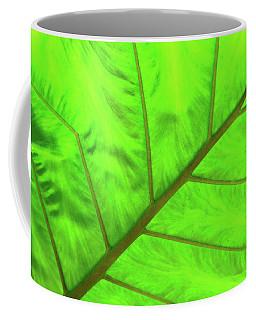 Green Abstract No. 5 Coffee Mug