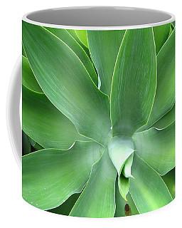Green Agave Leaves Coffee Mug