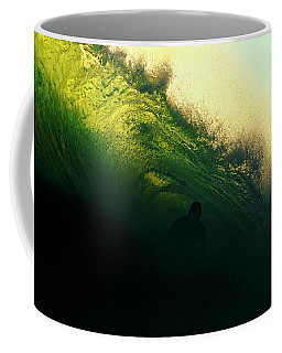 Green And Black Coffee Mug