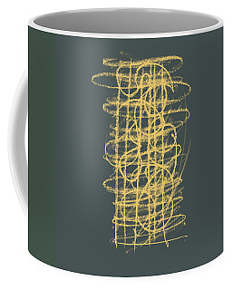 Green And Gold 1 Coffee Mug