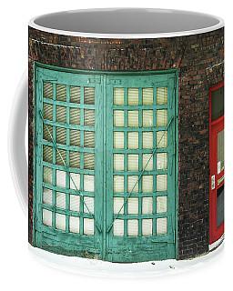 Green And Red Coffee Mug