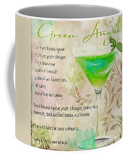 Green Angel Mixed Cocktail Recipe Sign Coffee Mug