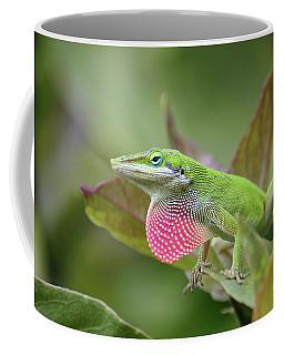 Green Anole Coffee Mug