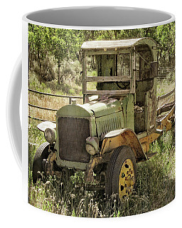 Green Antique Mack Coffee Mug