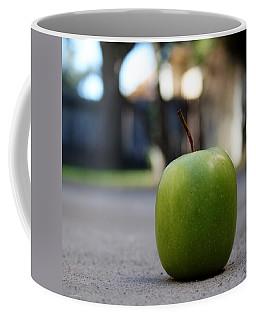 Green Apple- Photography By Linda Woods Coffee Mug