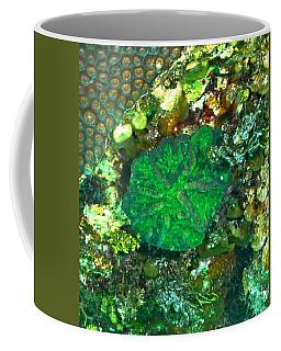 Green Artichoke Coral Coffee Mug